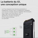 Téléphone Incassable Geotel G1 Terminator - Noir ou Orange - 16Gb ROM - 720 x 1280